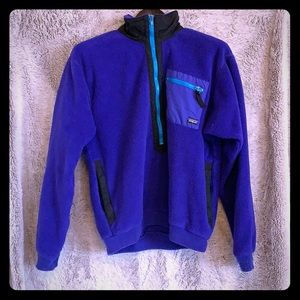 Patagonia VINTAGE fleece, srsly cool 🔥💯🔥💯